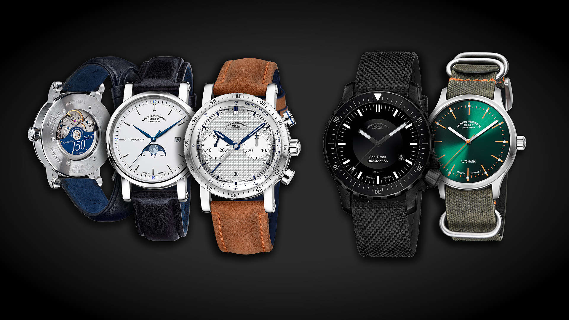 Mühle Watches 150th Anniversary First Class Watches Blog