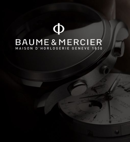 Baume & Mercier watches header