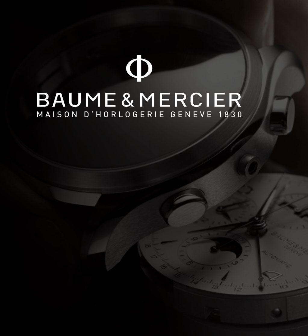 Baume & Mercier watches header