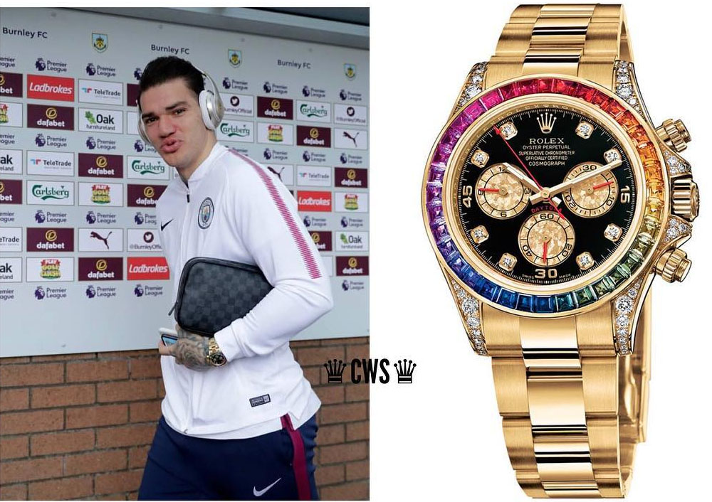 Footballers Watches