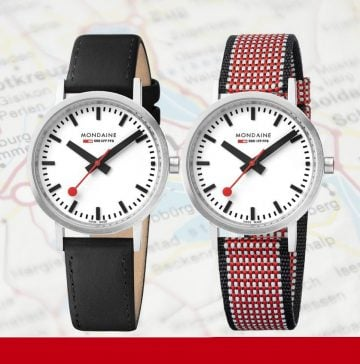 Mondaine Swiss Railways watches