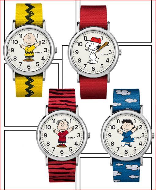 Timex peanuts header