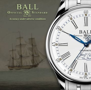 BALL Trainmaster Endeavour Chronometer Header