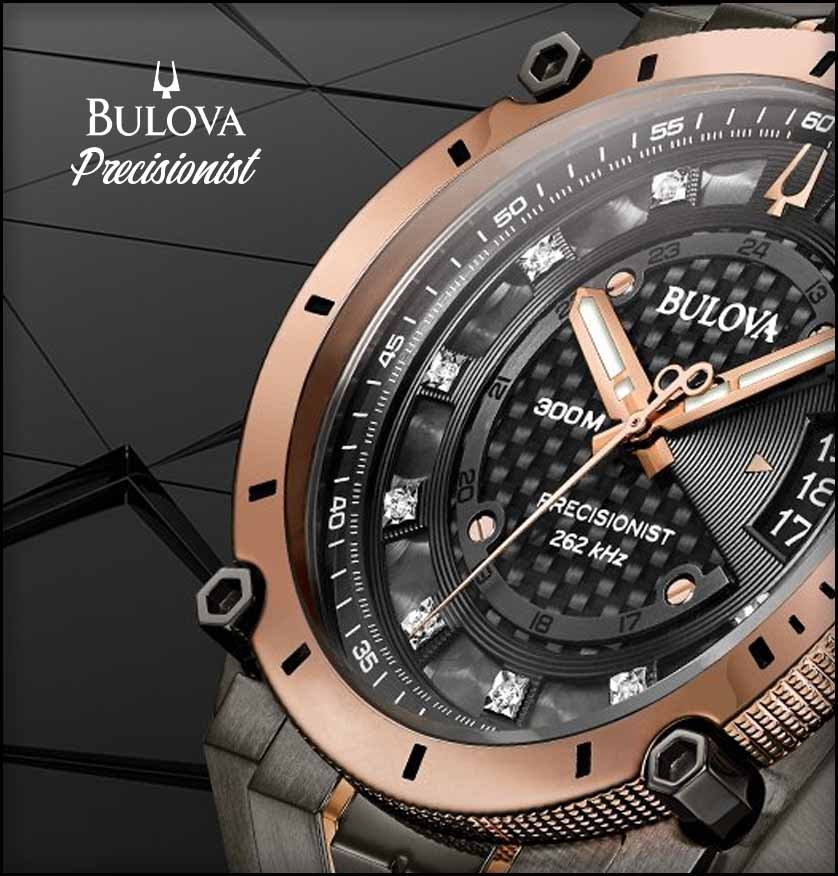 Bulova Precisionist Header