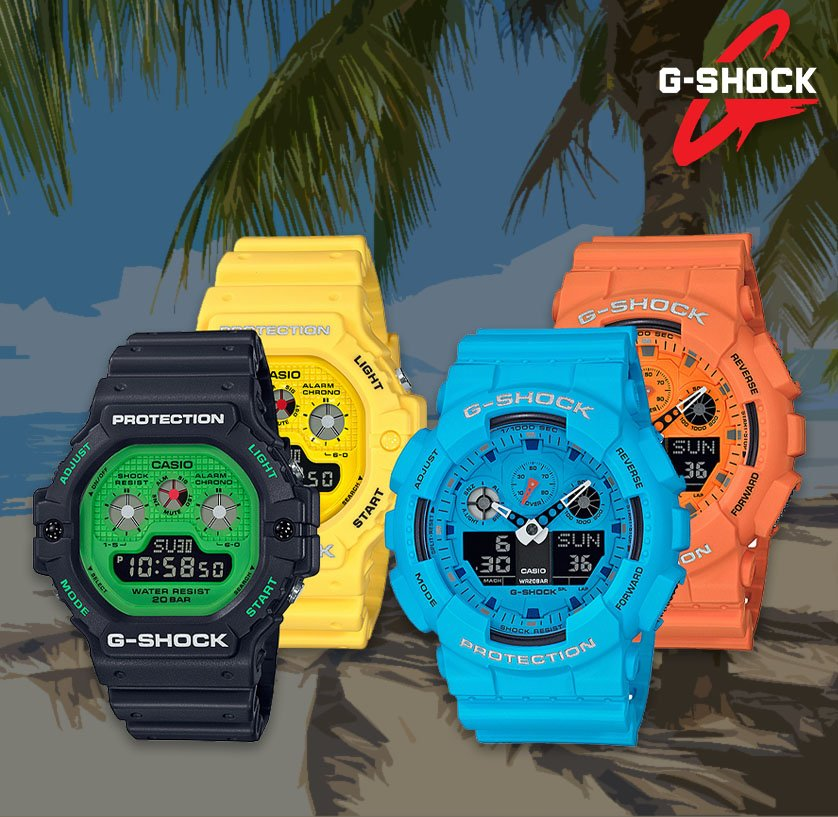 G-Shock hot Rock Sounds Series Header