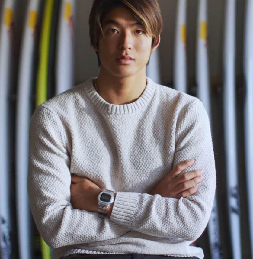 Kanoa Igarashi Watch header