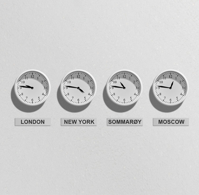 Sommarøy Time Zone Header