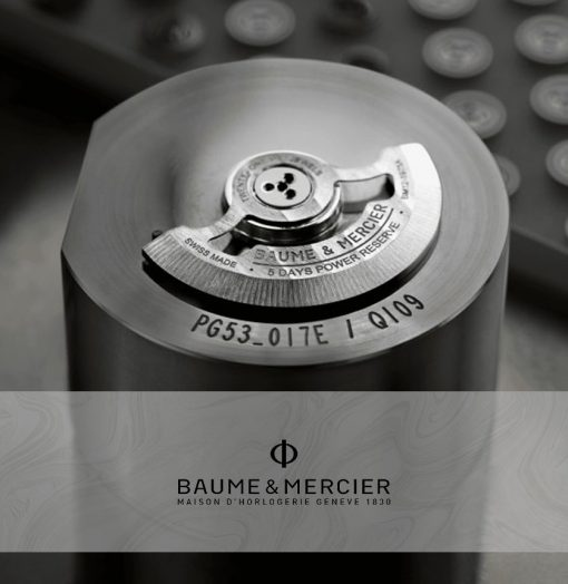 Baume & Mercier Clifton Baumatic Header