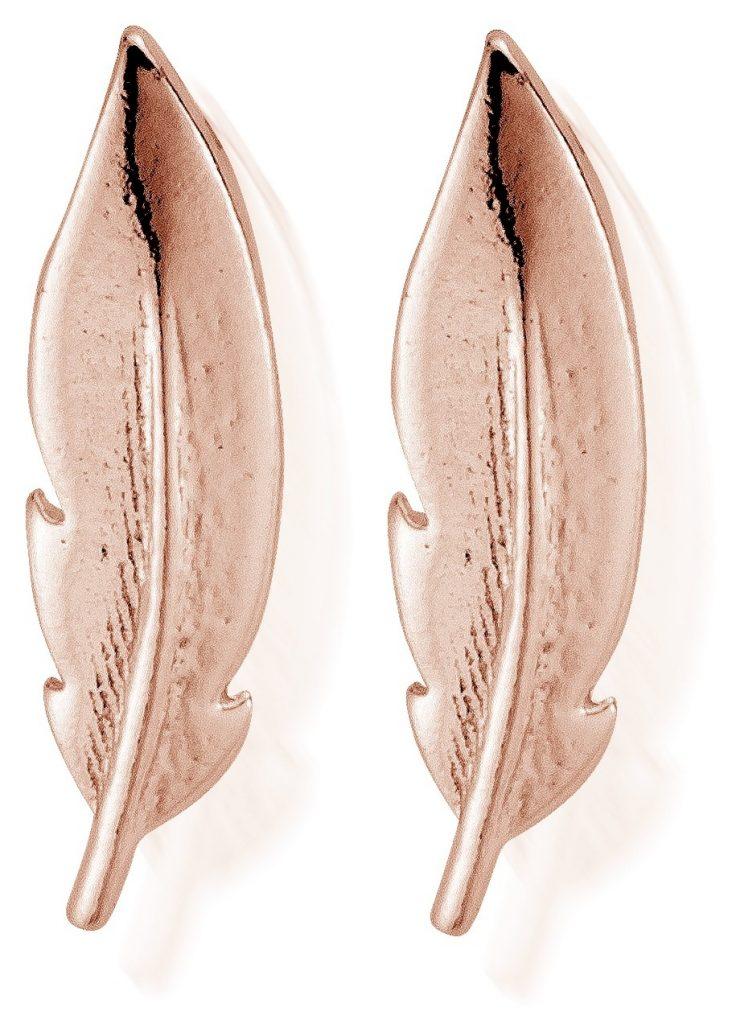 feather earrings by ChloBo
