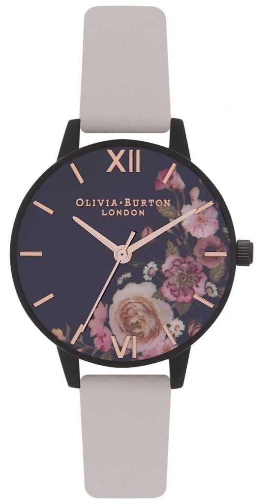 After dark floral watch