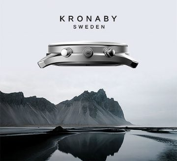 Kronaby Smartwatches Header