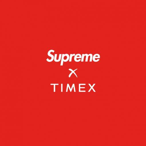 Supreme Timex Collaboration Header