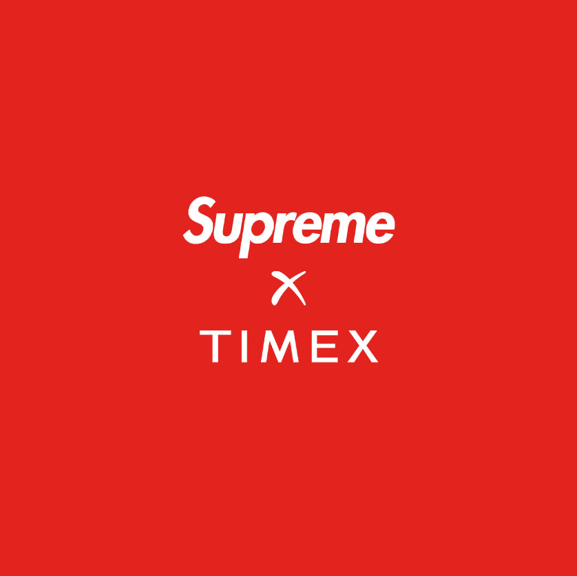 Supreme Timex Collaboration Header