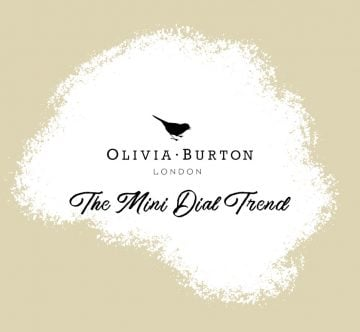 Olivia Burton Mini Dial Header