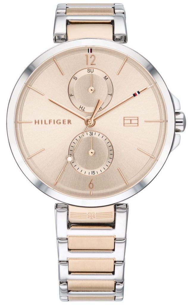 women's pink timepiece