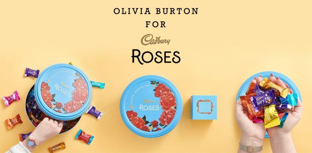 Olivia Burton Cadbury Roses 1