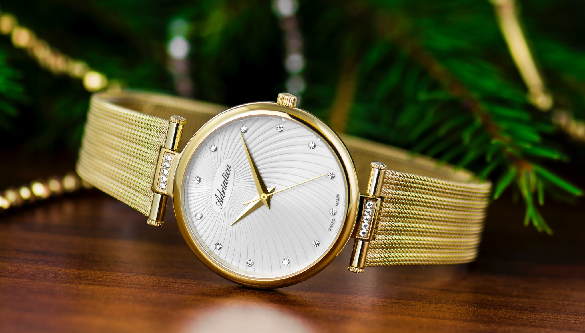 gold watches for autumn