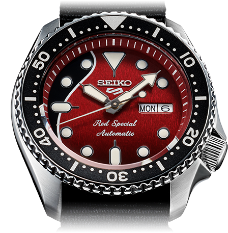 seiko 5 sport with Brian May