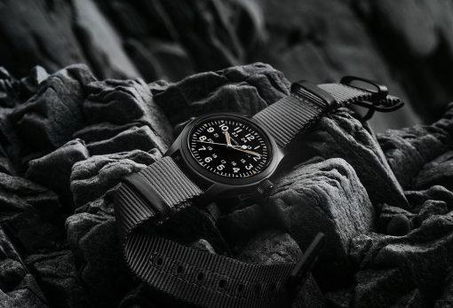 Hamilton's All Black Watches For Men