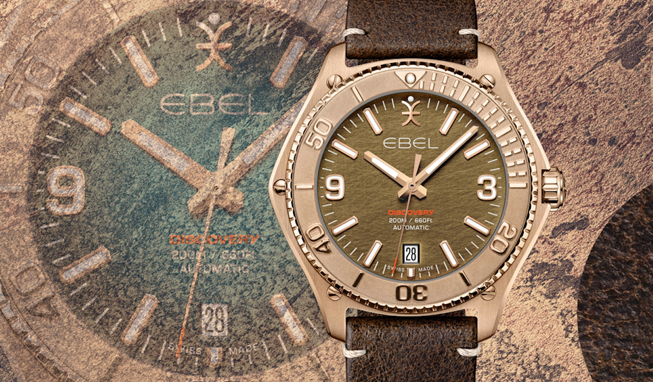 Introducing The EBEL Discovery Bronze