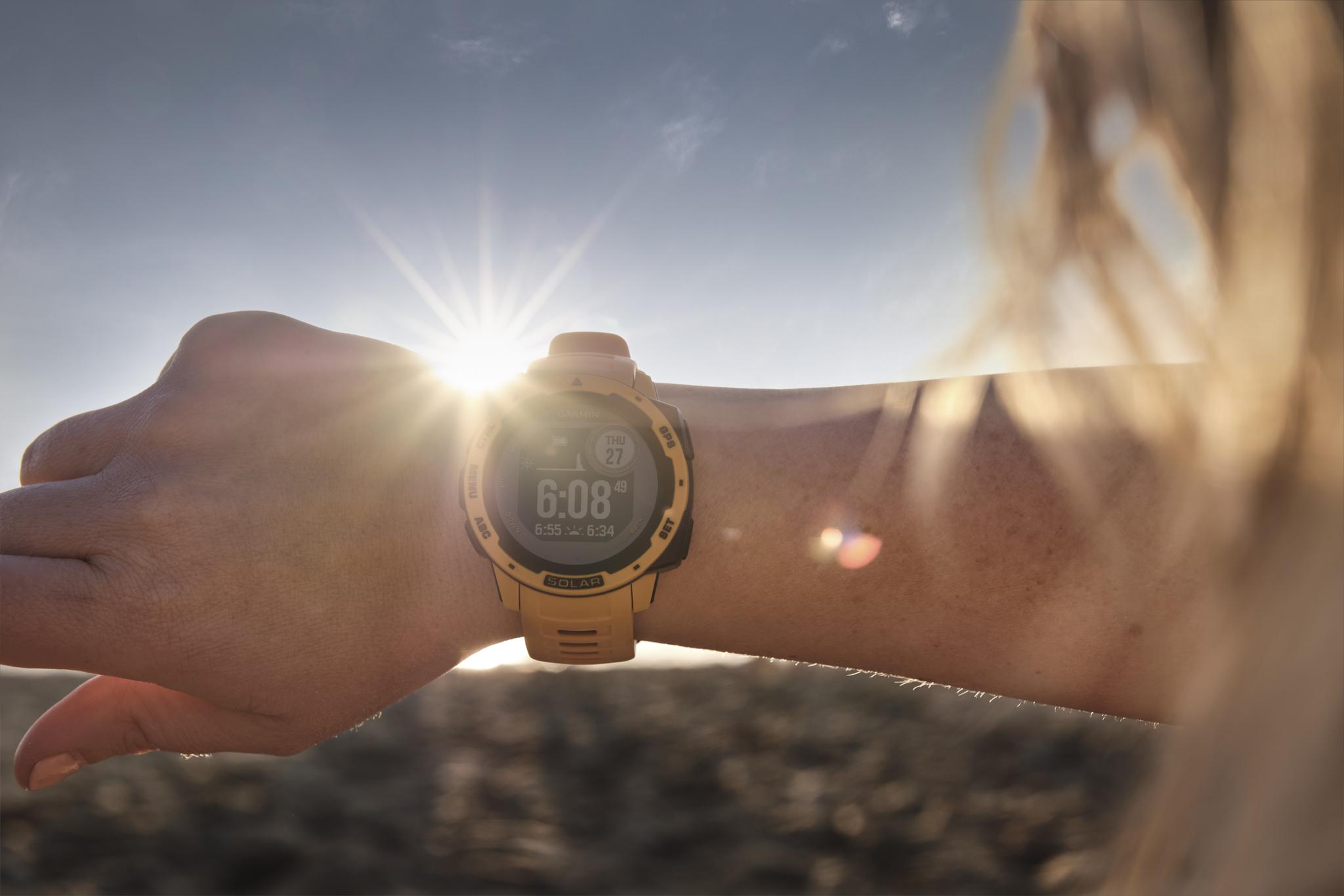 Introducing the Garmin Solar Watches