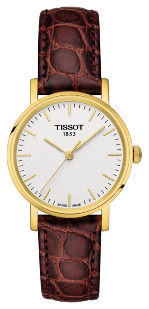 tissot gold case