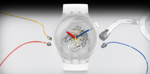 Swatch's Big Bold Jelly Watches