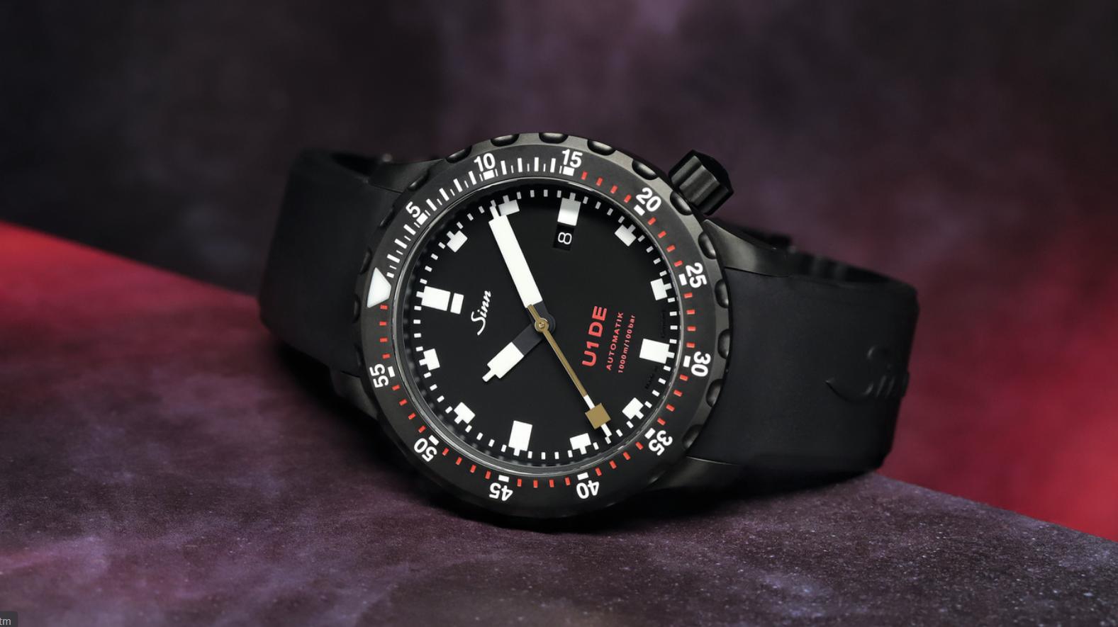 Sinn's new U1 DE watch