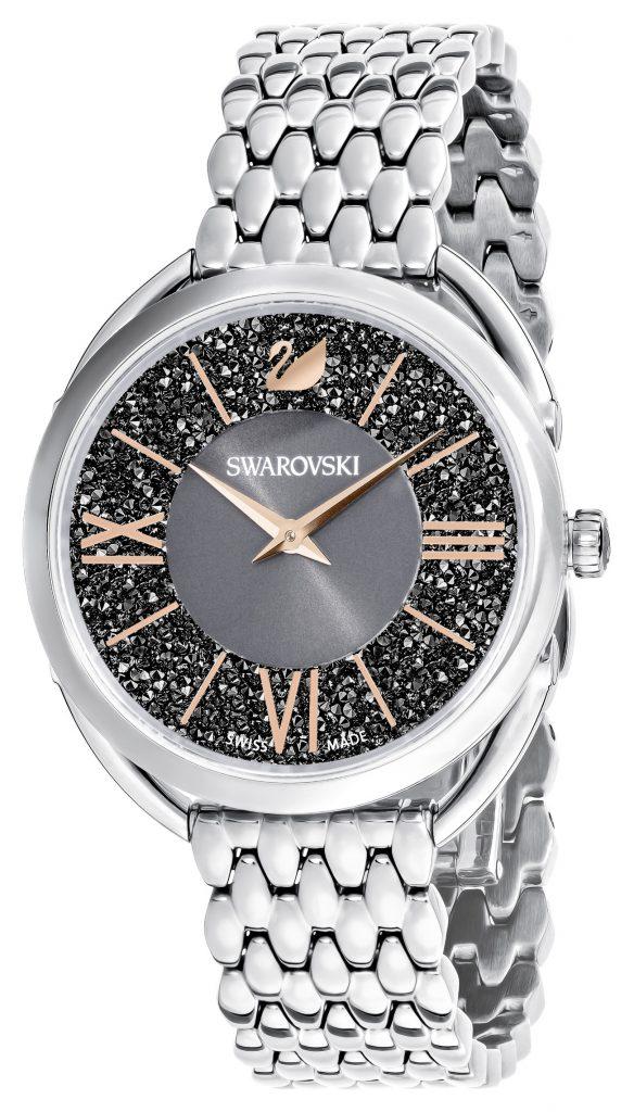 black crystal dial