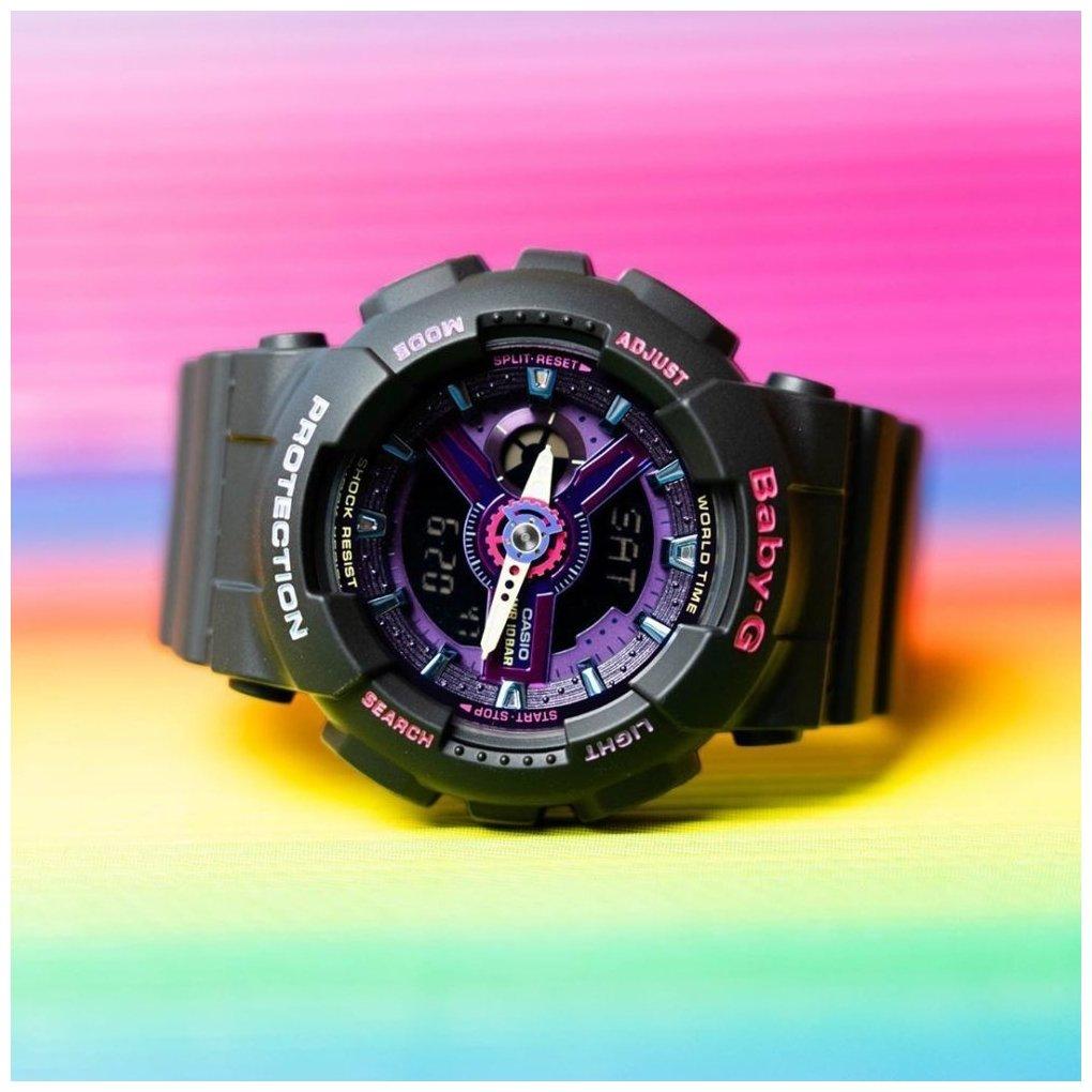 lifestyle baby-g purple