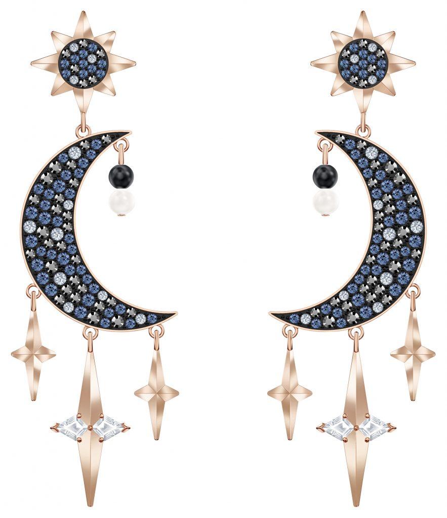 swarovski celestial chandelier earrings