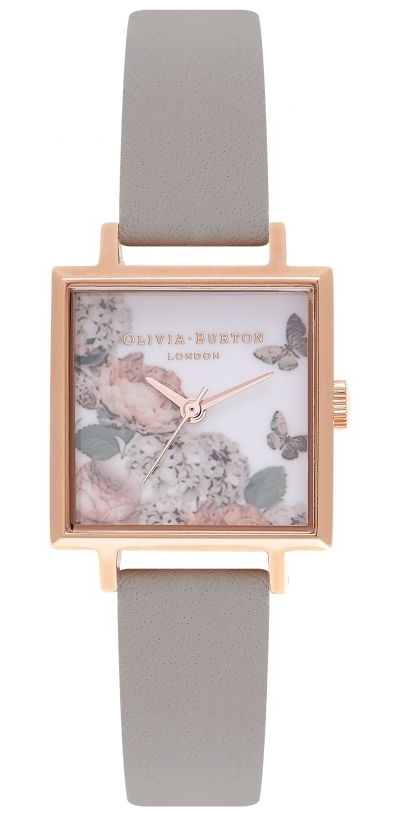square dialed watch