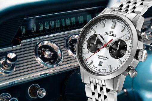 Delma's New Continental Chronographs
