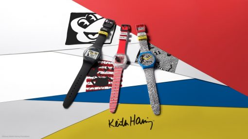 Swatch Mickey Mouse X Keith Haring