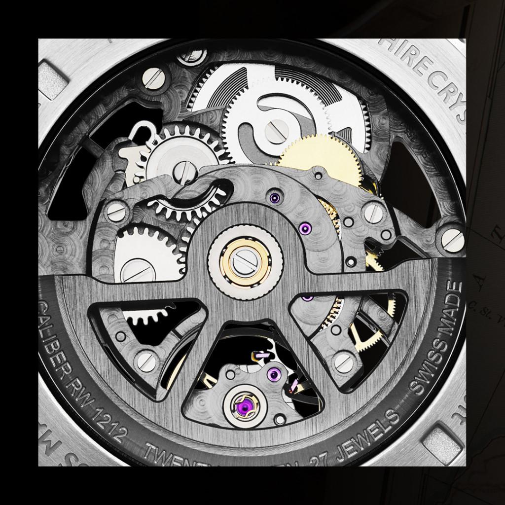 Raymond Weil Bronze Freelancer Skeleton Watch