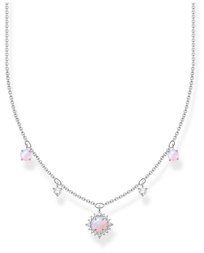 vintage imitation pink opal