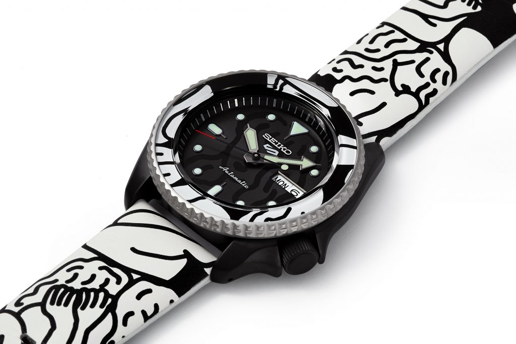 Seiko Launch Auto Moai Limited Edition Watch