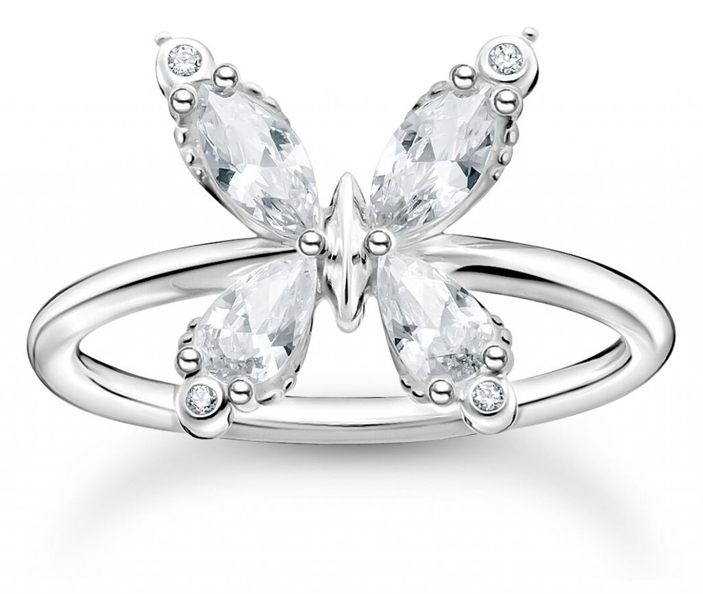 thomas sabo butterfly ring