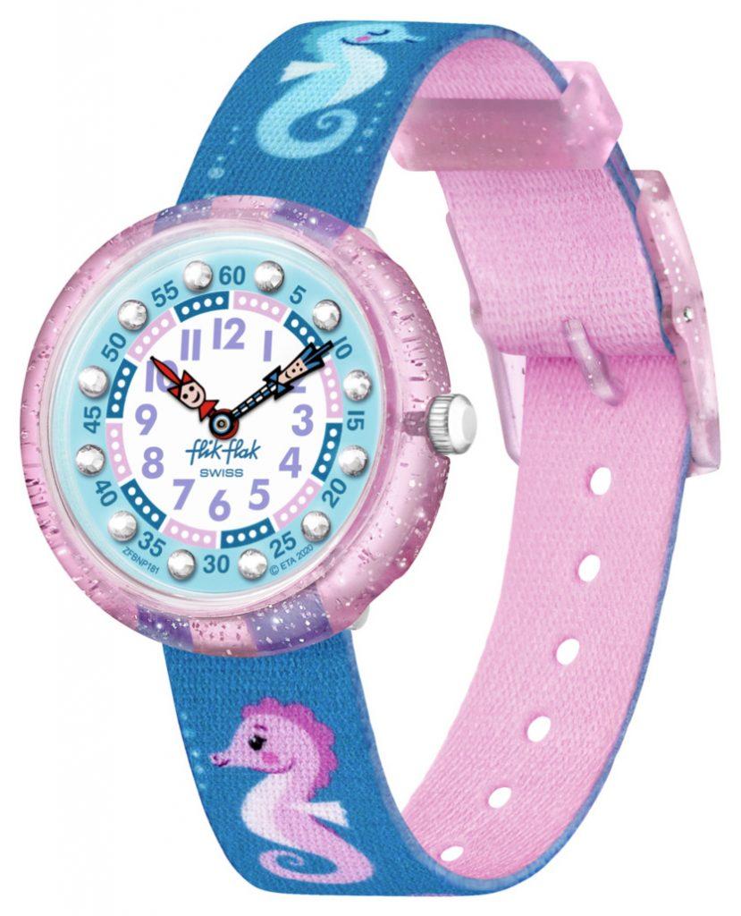 seahorse sparkling watch