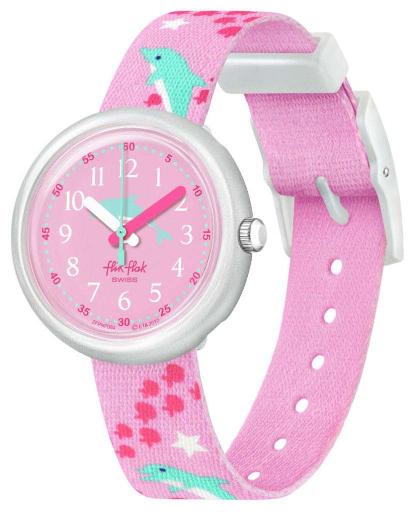 pink dolphin watch