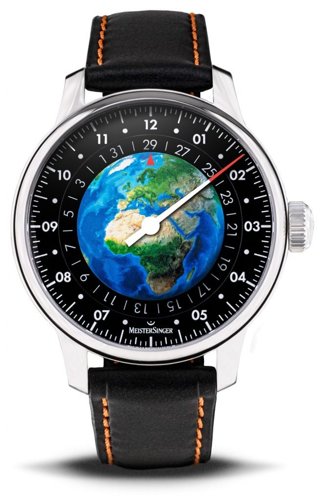 MeisterSinger Edition Planet Earth Watch