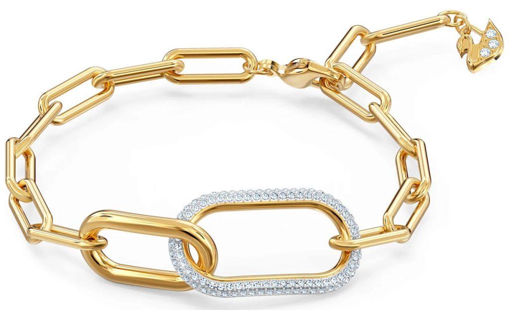swarovski time bracelet