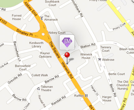 Map of store location - click here to get directions