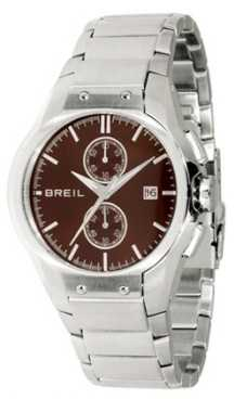 Breil Tribe Mens Brown Chronograph Dial Watch TW0599