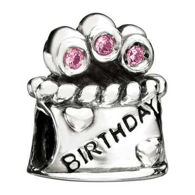 Chamilia Happy Birthday- Pink CZ JA-22