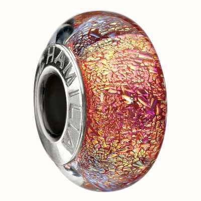 Chamilia Iridescent Pink Copper Charm OB-177