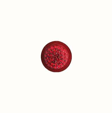 MY iMenso 925/Rhod-Plated Insigne/Ring Swarovski El. Red (-8 14-0999