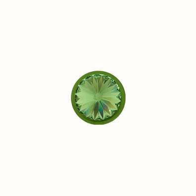 MY iMenso Birthday Stone August Peridote Insigne/Ring 14mm 14-1026
