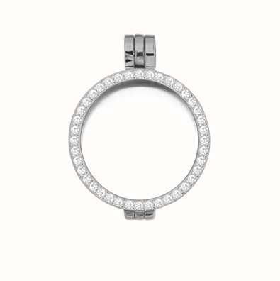 MY iMenso Medallion With Cz-Stones 24mm (925/Rhod-Plated) 24-0070