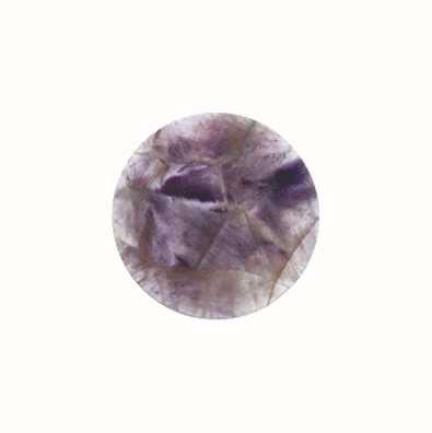 MY iMenso Amethyst Gemstone 24mm Insignia 24-0105